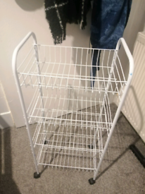 4 drawer storage rack
