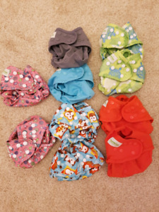 Cloth diaper covers. Never been used