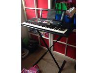 Yamaha keyboard/synthesiser