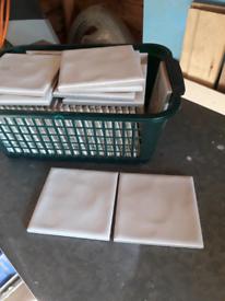 Tiles 48 white tiles