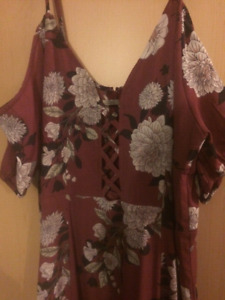 Women's XL long Summer dress Never Used
