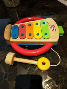 Little Tikes wooden xylophone