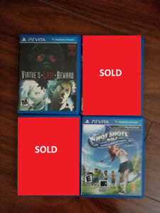 PS Vita games, Virtue's Last Reward, Hot Shots Gold