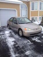 Honda Civic sedan manual