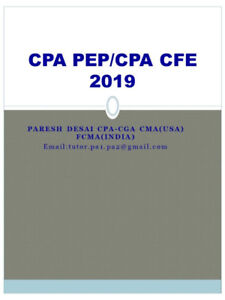 CPA Core 1 & Core 2  Challenge Exam 2018/19, BC Richmond