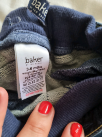 Unisex 3-6 month Ted Baker jeans