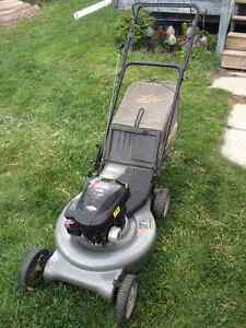 "Craftsman 21"" Rear wheel self-propelled lawnmower"