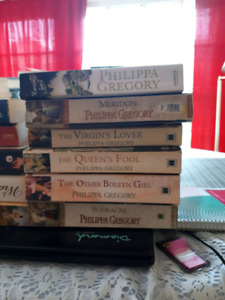 Lot of Philippa Gregory Novels