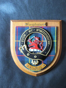 Family Crests: MacLeod, Sutherland or Farquharson / Findlay