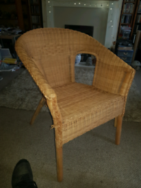 Whicker chair