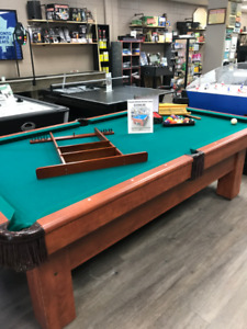 8ft. Canada Billiards Table For Sale