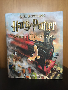 Harry Potter and the Sorcerer's Stone Illustrated Ed. NEW