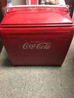 1940-1950's Coca-cola Cooler with Tray