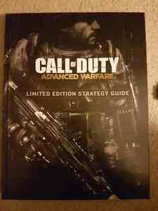 Call of Duty Advanced Warfare limited edition strategy guide