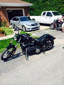 Harley davidson black line