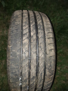 Free used 225/50/17 Dailyway tire. About 50% leftFree