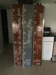 Growth Charts | Hand Made | Custom | Kawartha Lakes Peterborough Area image 3