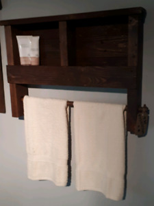 Rustic Towel Holder