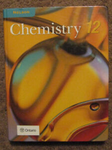 Nelson chemistry 12 textbook