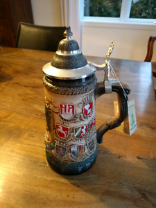 German Zoller & Born Beer Stein