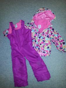 Girls 4T snow suit