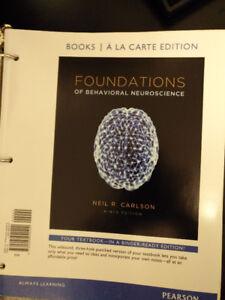Mcgill PSYC 211 textbook -Foundations of behavioral neuroscience