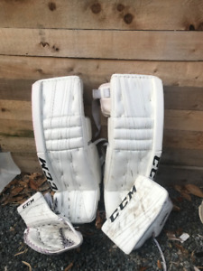 New goalie gear - 1000 takes it all
