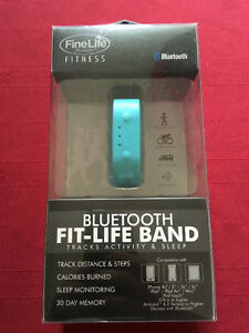 Brand New Fit-Life Bluetooth Fitness Tracker Wrist Band