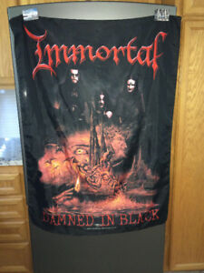 Flag Immortal Drapeau Poster en tissu