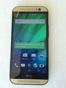 HTC One M8, Gunmetal Gray, Unlocked, in Perfect condition