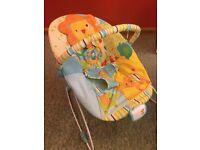 Bright stars bouncy chair