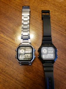 Two Casio AE1200 Watches