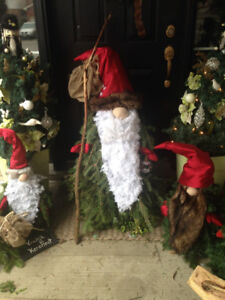 Gnomes . Nordic Authentic Scandinavian Holiday Gnomes Tomte