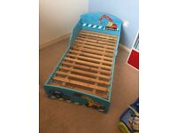 digger toddler bed from Next