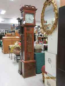 ANTIQUE GRANDFATHER CLOCKS