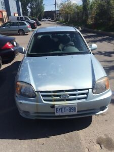 Hyundai accent 1500 OBO - safety and etest