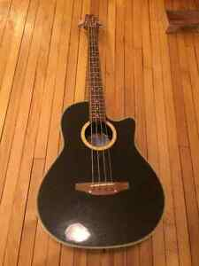 Ovation Applause AE-40 Acoustic Electric Bass