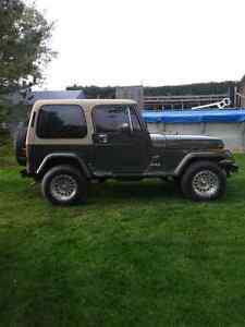 1989 Jeep YJ SAHARA Edition
