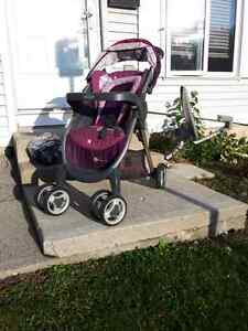 2 Year Old Graco Stroller and Bily's Shield Cover