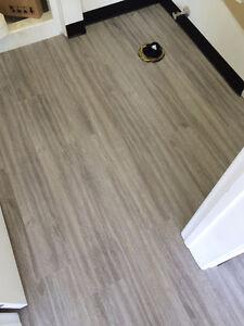 we supply and install Vinyl  Laminate, Vinyl Plunks , Vinyl tile Edmonton Edmonton Area image 1