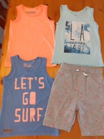 5 years boys summer clothes bundle
