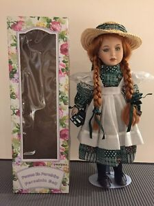 Genuine Porcelain Doll - Authentic Anne of Green Gables from PEI West Island Greater Montréal image 2