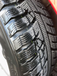 "Set of 16"" Winter Tires & Mags - Like New!"