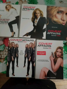 Covert Affairs the complete series