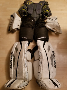 Équipement de gardien de but senior hockey goalie gear ball dek