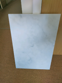 White Polished Marble Slab