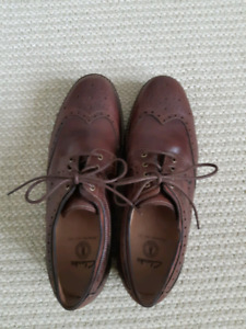 Clark's men's leather shoes