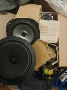 Assorted speakers price is obo
