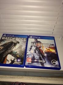 Watch dogs and battlefield 4