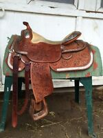 Silver Mesa show saddle for sale